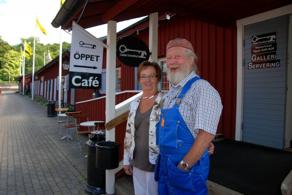 Galleri Smedbyn Brand-Johan o Inga-Lill foto Kerstin Ericsson