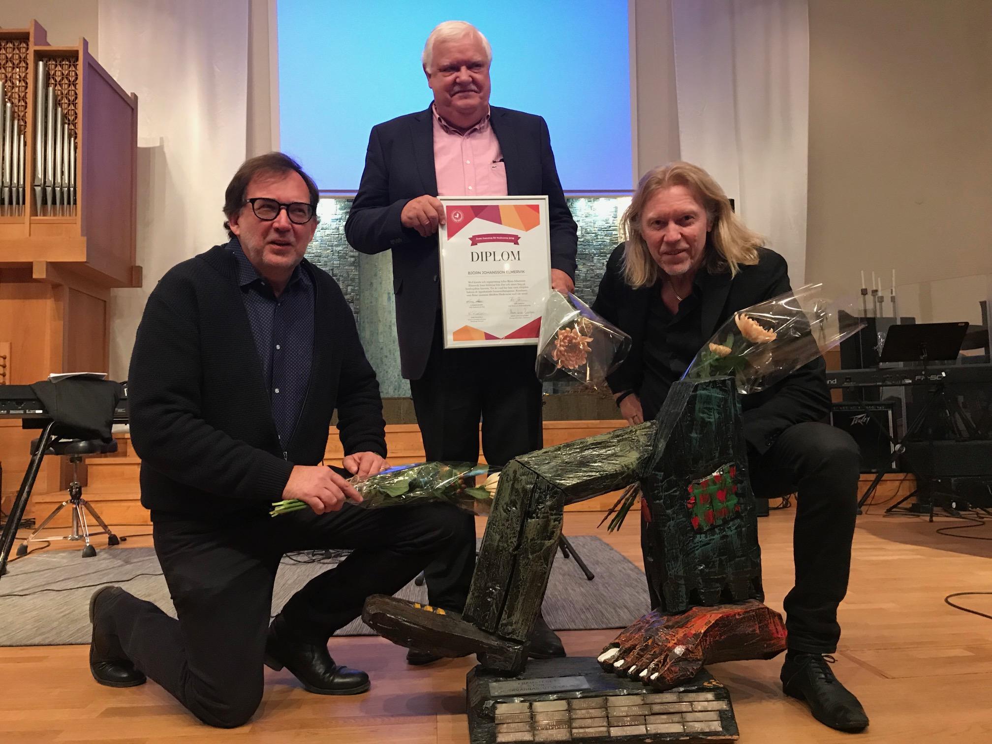 Johan Arvidsson, Björn Johansson-Elmervik och Hasse Pettersson